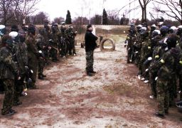 "Poligon ""Shockball"" Paintball Arena"